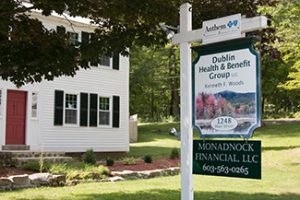 Dublin Health & Benefit Group office in Dublin, NH offering health insurance & employee benefits.