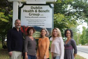 Dublin Health & Benefit Group team: offering health insurance & employee benefits